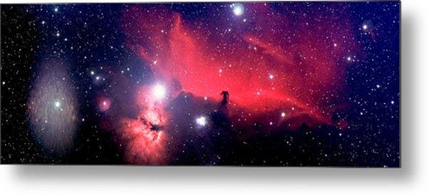 Horsehead Nebula Panorama Metal Print