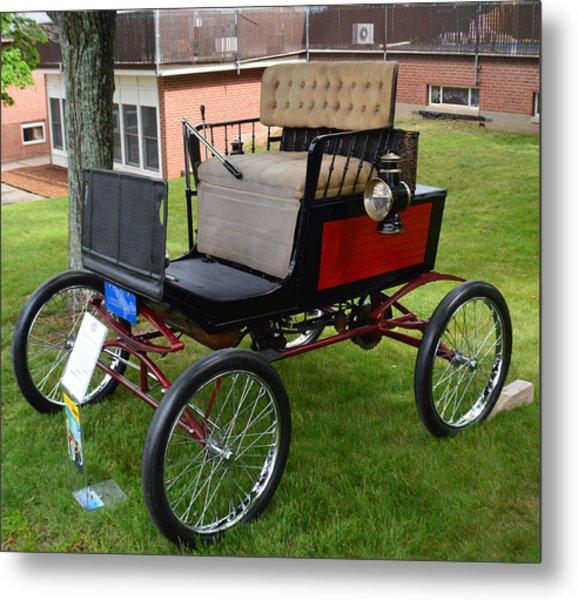 Horseless Carriage-c Metal Print