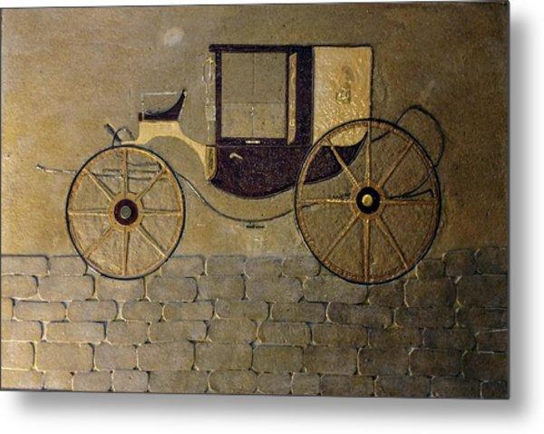 Horseless Carriage Metal Print