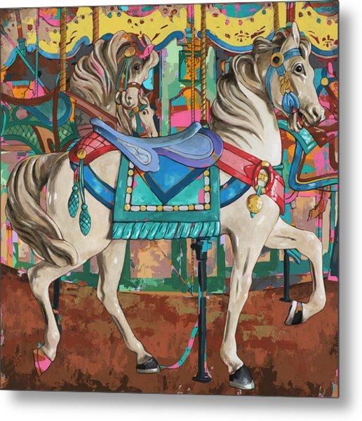 Horses #9 Metal Print by David Palmer