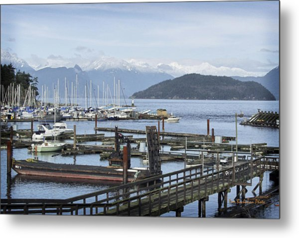 Horseshoe Bay Metal Print by Tom Buchanan