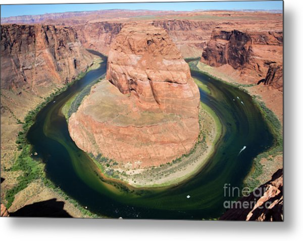 Metal Print featuring the photograph Horseshoe Bend Colorado River by Steven Frame