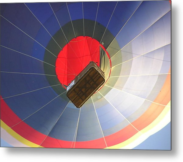Hot Air Balloon Metal Print by Richard Mitchell