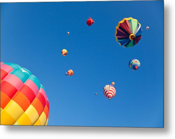 Hot Air Balloons 9 Metal Print