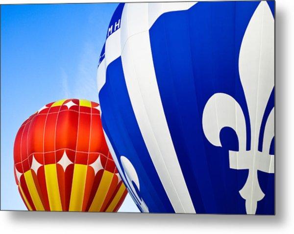 Hot Air Balloons Close-up Metal Print