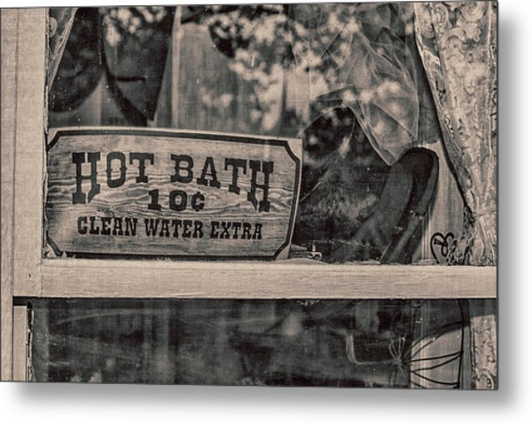 Hot Bath Metal Print