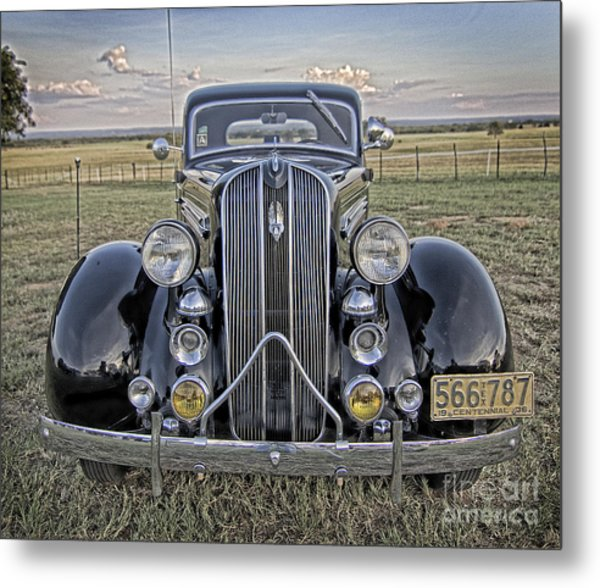 Hot Off The Grill Metal Print