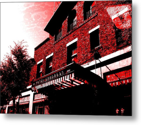 Hotel Congress Metal Print
