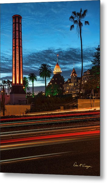 Metal Print featuring the photograph It's Still Standing by Dan McGeorge