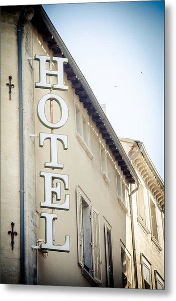 Metal Print featuring the photograph Hotel by Jason Smith