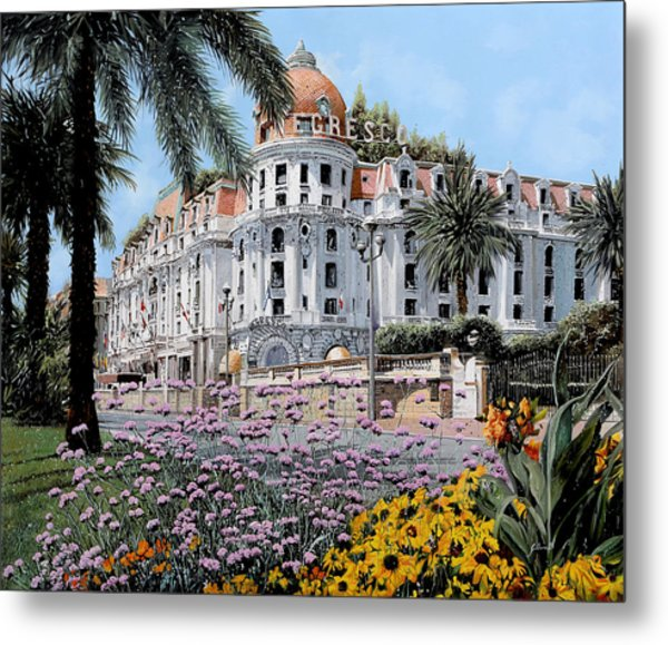 Hotel Negresco  Metal Print