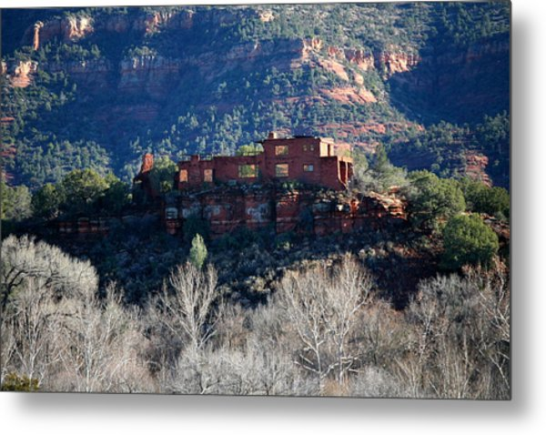House Of Apache Fires Metal Print by Jennilyn Benedicto