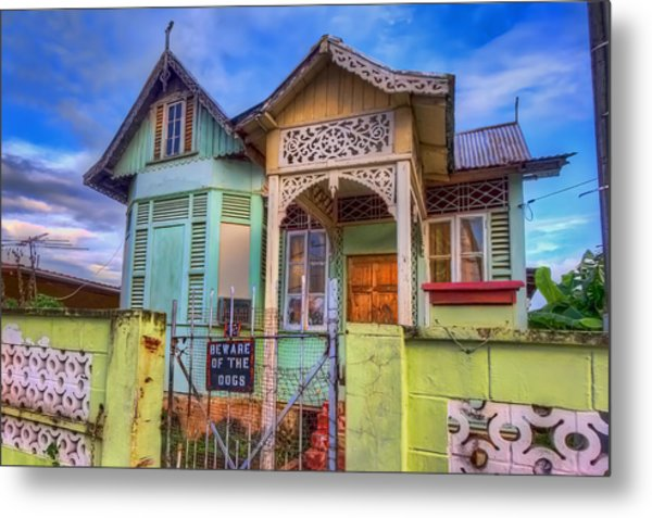 House Of Colors Metal Print