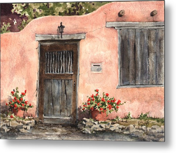 House On Delgado Street Metal Print