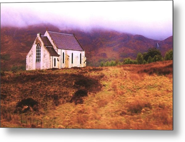 House On The Prairie Metal Print