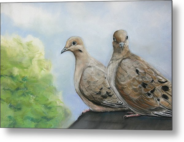 House Sitters Metal Print by Charlotte Yealey
