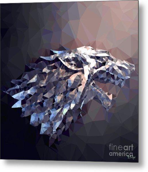 House Stark Metal Print