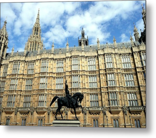 Houses Of Parliament Metal Print by Dmytro Toptygin