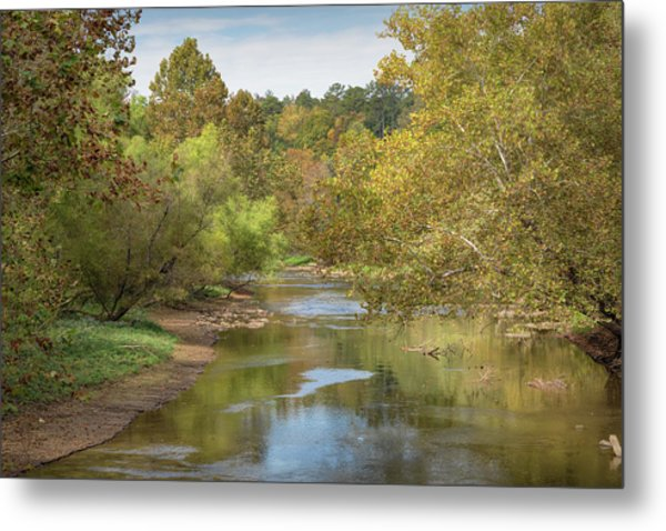 Metal Print featuring the photograph How Green The Valley by John M Bailey