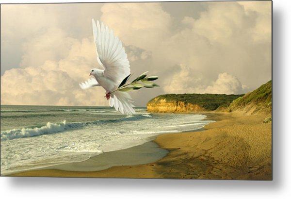 How Many Seas Must A White Dove Sail? Metal Print