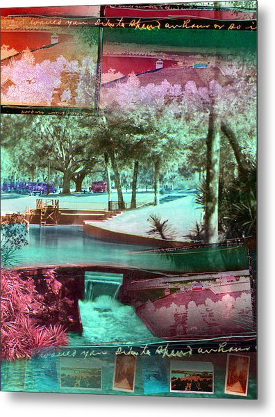 How Would You Like To Spend An Hour Metal Print by Deborah Hildinger