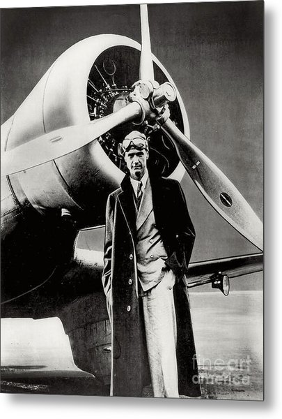 Howard Hughes - American Aviator  Metal Print