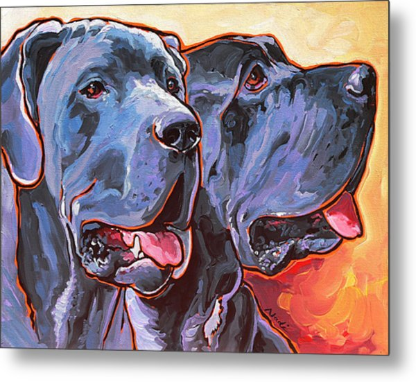 Howy And Iloy Metal Print