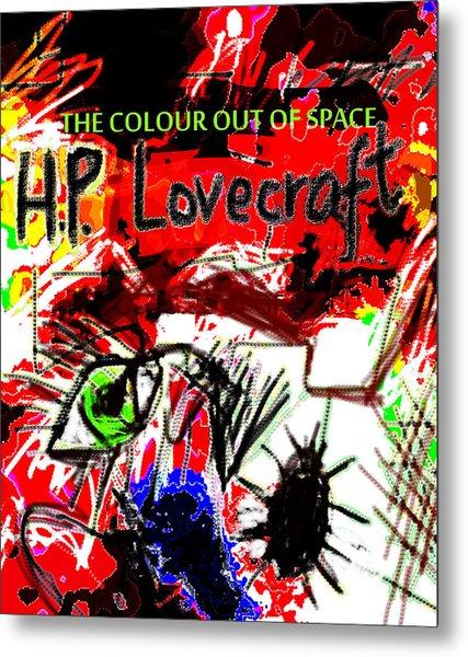 Hp Lovecraft Poster  Metal Print
