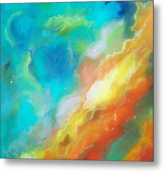 Hubble Swan Nebula The Perfect Storm Metal Print by Lynda McDonald