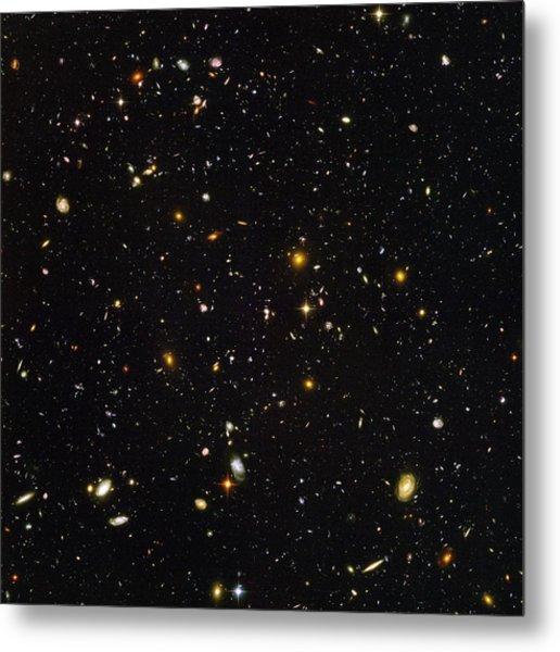 Hubble Ultra Deep Field Galaxies Metal Print