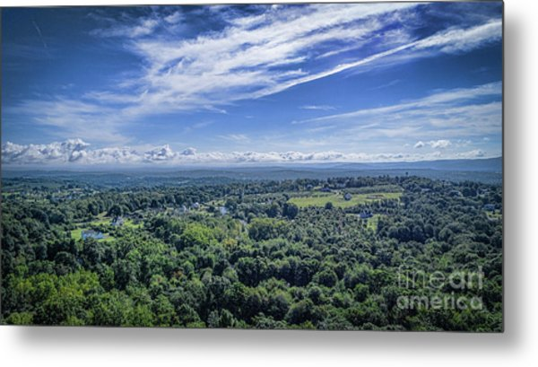 Hudson Valley View Metal Print
