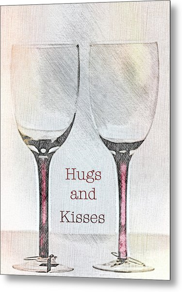 Hugs And Kisses Metal Print
