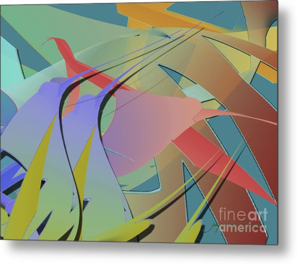 Hummingbird Convention Metal Print