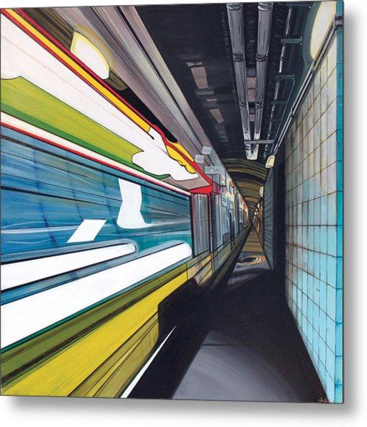 Humphrey Terminal Metal Print