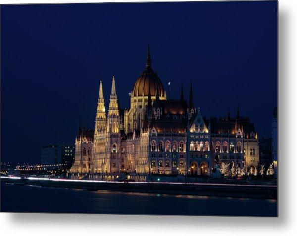 Hungarian Parliament Building #1 Metal Print
