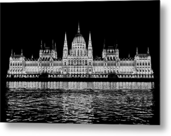 Hungarian Parliament Building Metal Print
