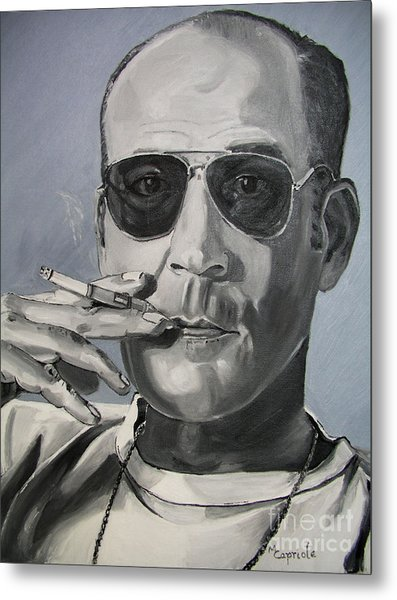 Hunter Thompson Metal Print