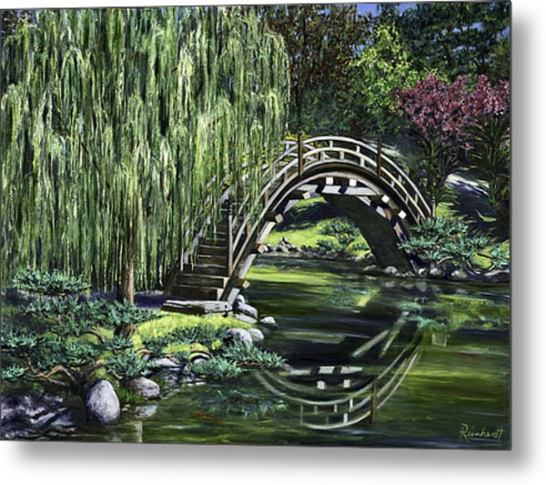 Huntington Tea Metal Print