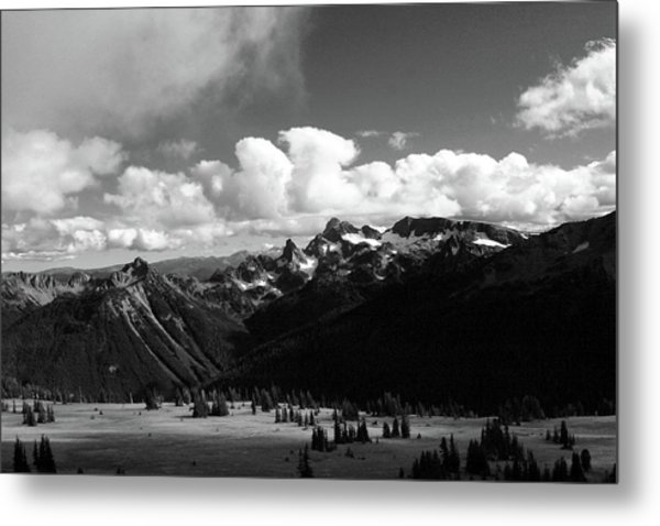 Hurricane Ridge Metal Print