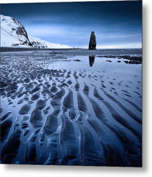 Hvitserkur, Iceland Metal Print