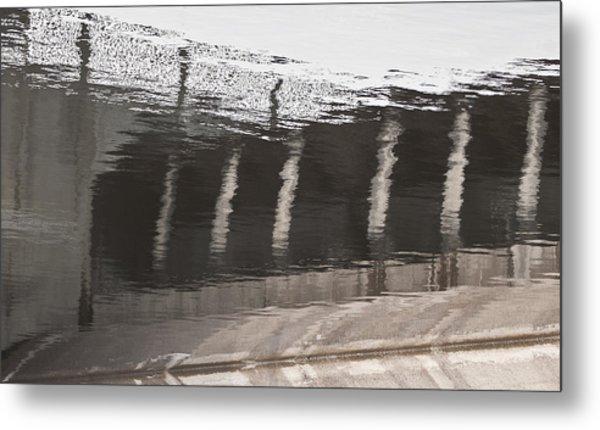 Hydro Dam Number One Metal Print by Michael Rutland