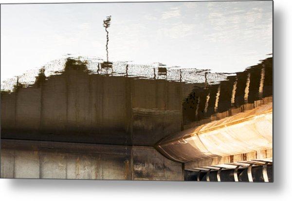Hydro Dam Number Two Metal Print by Michael Rutland