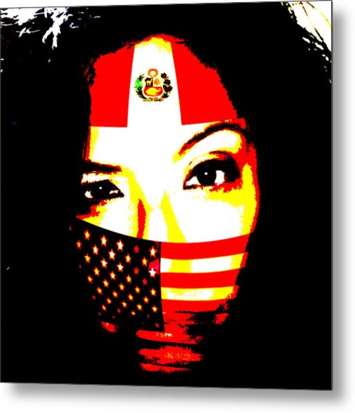 I Am An Immigrant Metal Print
