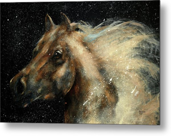 I Am In The Stars And In Your Heart Metal Print