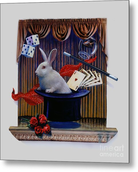 I Believe In Magic Metal Print