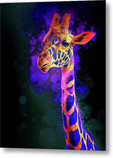 I Dreamt A Giraffe Metal Print