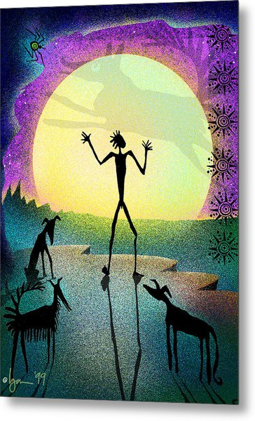 I Foresee A New Friend Metal Print