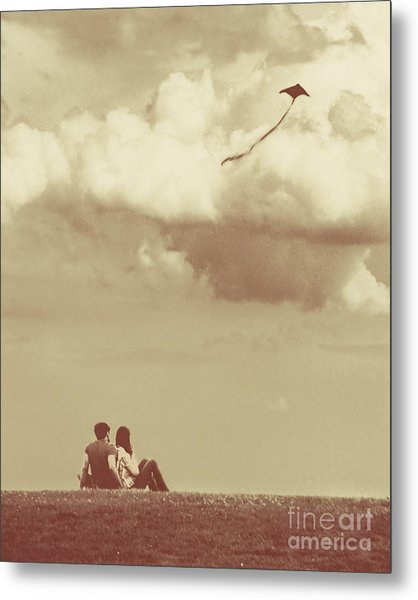 I Had A Dream I Could Fly From The Highest Swing Metal Print