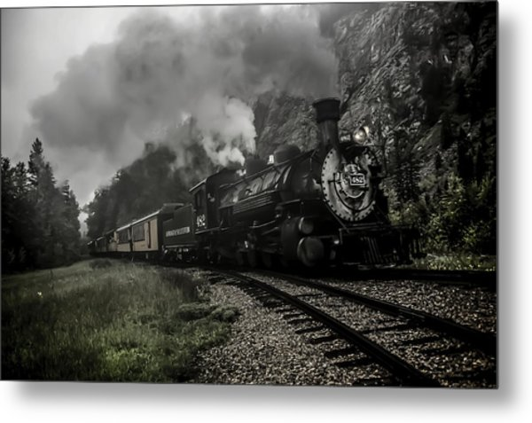 I Hear The Train A Comin' Metal Print
