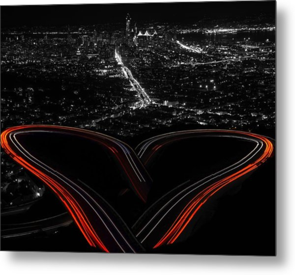 Metal Print featuring the photograph I Left My Heart In San Francisco by Rand